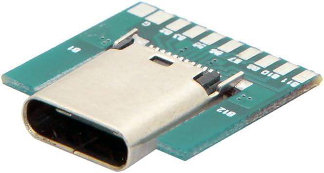 Cy Diy 24pin Usb 3 1 Typ C Buchse Adapterstecker Smt Elektronik