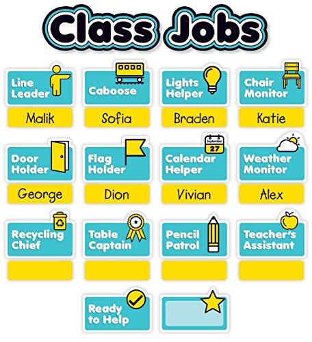 Aqua Oasis: Class Jobs Mini Bulletin Board ()