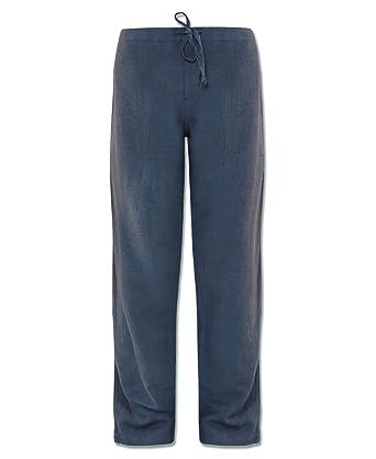 7176a08381 Amazon.com: Soul Flower Men's Hemp Yoga Pants - Casual Unisex Lounge ...
