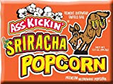 NEW Ass Kickin' Sriracha Microwave Popcorn has just the right amount of kick without burning out your taste buds. Put a little Ass Kickin' in your favorite movie. This popcorn is seasoned just right, with a taste of the southwest.