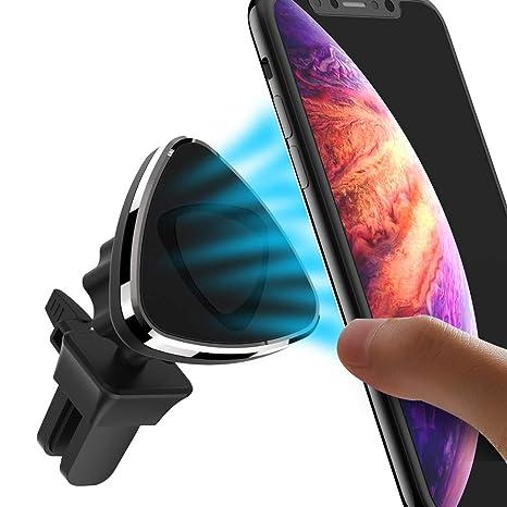 Soporte Móvil Coche Magnético Universal,Avolare para Rejillas del Aire Soporte Smartphone Coche con Imán