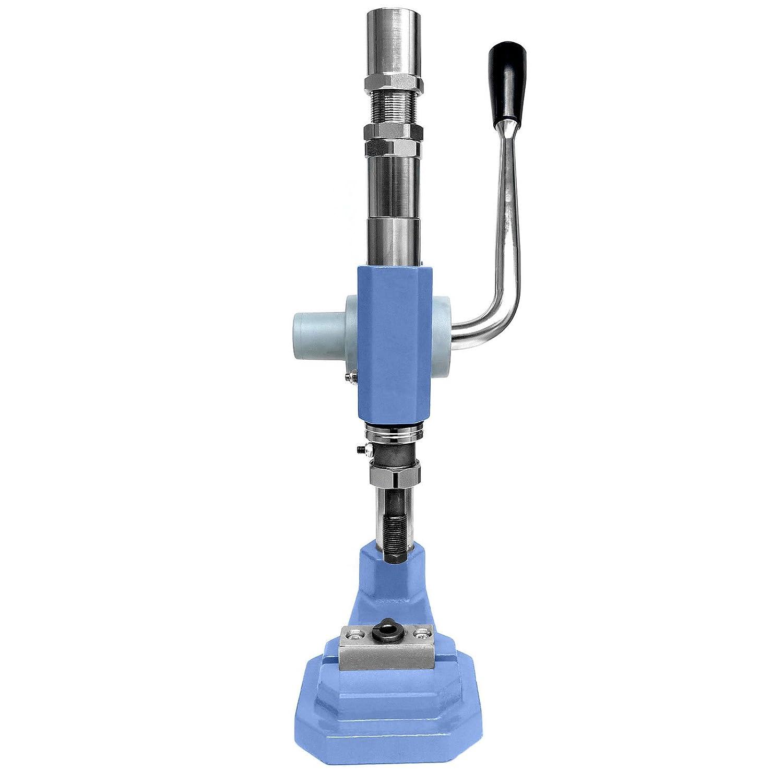 Universal stroke press for grommets AAZ rivets press fasteners eyelets