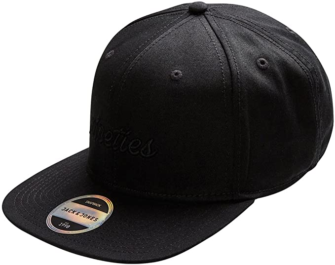 Jack   Jones Men s Cap Black at Amazon Men s Clothing store  7eea17d7019