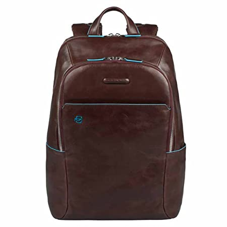 Piquadro Blue Square Mochila portaordenador con compartimentoportaiPad®/iPad®mini acolchado - CA3214B2 (Marrón): Amazon.es: Equipaje