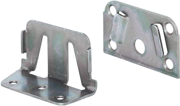 Gedotec Equerre Angle En Metal Pour Lit Equerre De Fixation Assemblage Pour Cadre De Lit A