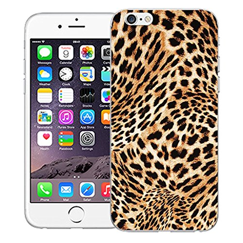"""Mobile Case Mate iPhone 6S Plus 5.5"""" Silicone Coque couverture case cover Pare-chocs + STYLET - Cheetah Print pattern (SILICON)"""