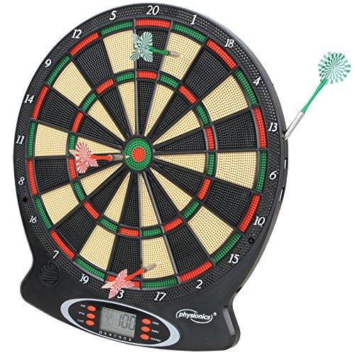 Elektronische Dartscheibe elektronisches Dartboard Darts Dartsport in drei verschiedenen Farben inkl. 6 Dartpfeilen