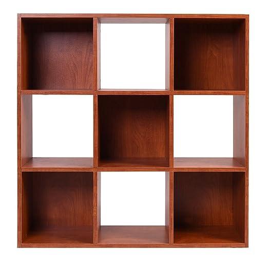 Amazoncom MasterPanel  Brown 9Cube Organizer Storage Shelf