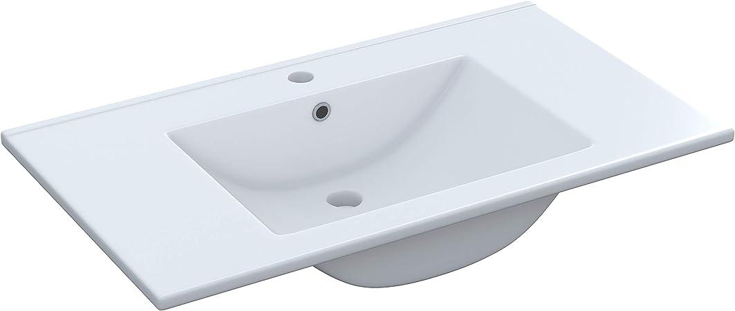 80/cm Arkitmobel 305910o/ /Lavabo en c/éramique