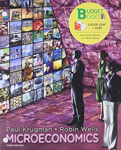 Microeconomics (Loose Leaf) & Economics Sapling Access Card (6 Month) by Paul Krugman (2012-07-01)