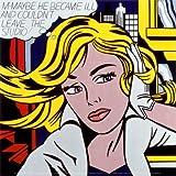 M-Maybe, c.1965 Fine Art Poster Print by Roy Lichtenstein, 12x12