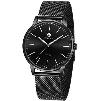 Amazon.com: Reloj de pulsera para hombre, analógico, de ...
