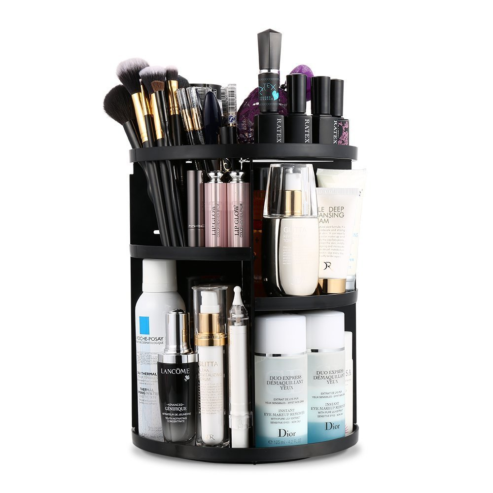 Jerrybox 360 Degree Rotation Makeup Organizer