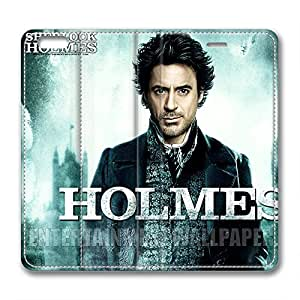 iCustomonline Sherlock Holmes PU Leather Cover for iPhone 6( 4.7 inch) by mcsharks