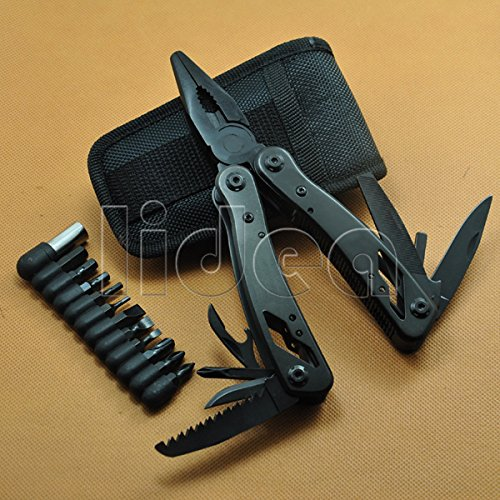 Survival Crimping Tools Alicate Portable Multi Functional Folding Multitool Pliers with Knife Screwdriver Herramientas HK HW-55 - - Amazon.com