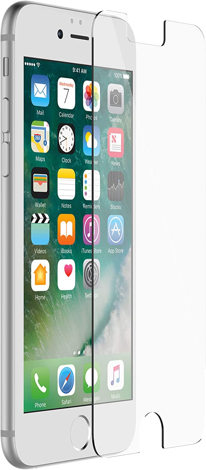 OtterBox Tempered Glass Screen Protector Compatible with Commuter and Symmetry for iPhone 8/7/6s/6 - Non-Retail Packaging