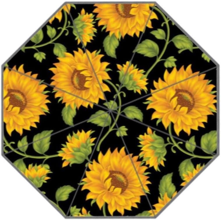 Coolstuffs Sunflower Tumblr Foldable Umbrella Travel Umbrellas for Women