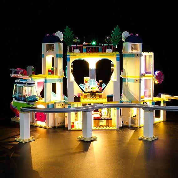 LIGHTAILING Conjunto de Luces (Friends Resort De Heartlake City) Modelo de Construcción de Bloques - Kit de luz LED Compatible con Lego 41347 (NO ...