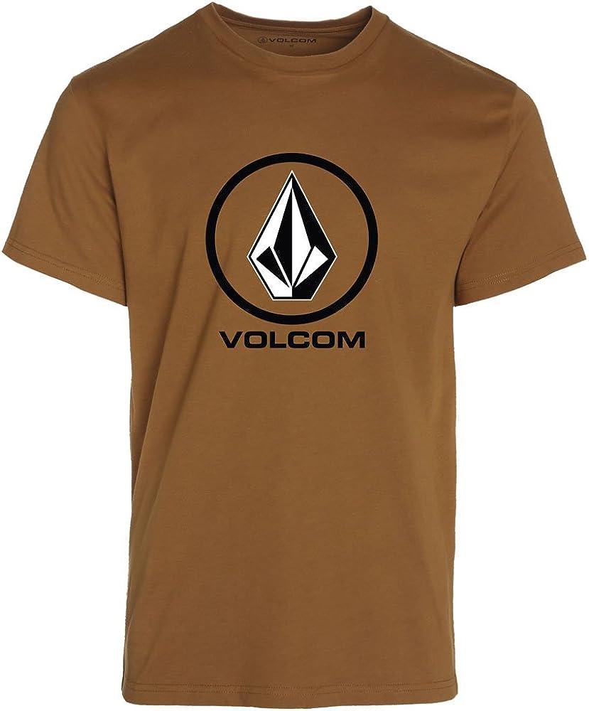 Volcom Circle Stone SS - Camiseta para Hombre, Color marrón, Talla M: Amazon.es: Ropa y accesorios