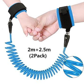 Kinder Leine Sicherheitsband Kleinkind Sicherheitsleine für Handgelenk in blau