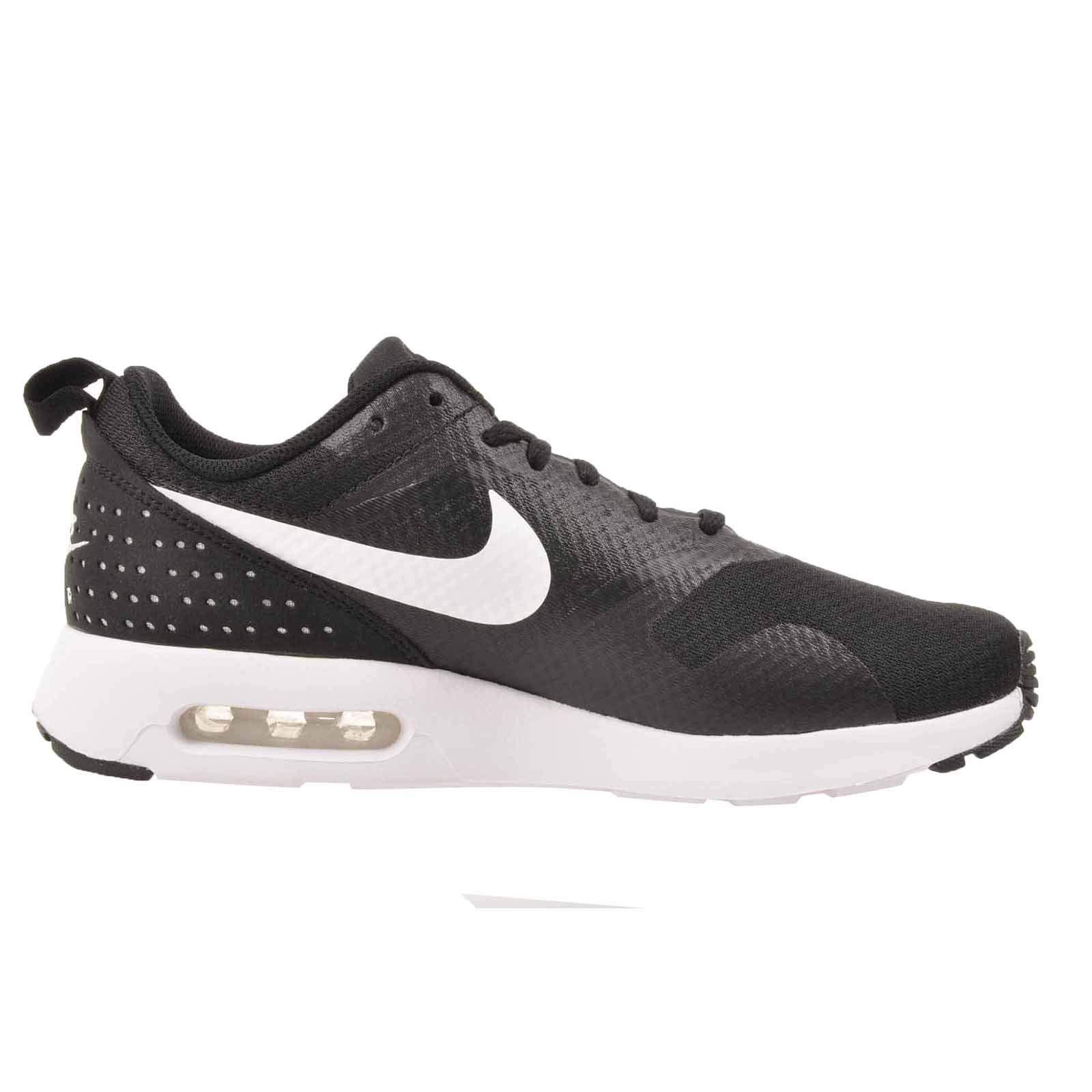 promo code 0bc21 d8628 Galleon - NIKE Women s Air Max Tavas Running Shoes Black White 916791 001  (9 B(M) US)