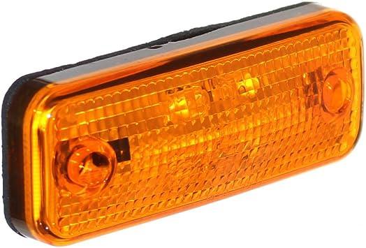 Old Harvest 1 Led Begrenzungsleuchte 12v 24v Markierung Umriß Positionsleuchte Orange Pkw Lkw Anhänger A Neu Auto