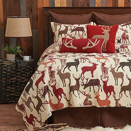 - C&F Home Colton Twin 2 Piece Quilt Set Twin 2 Piece Set Brown