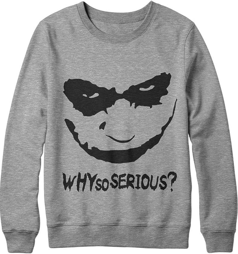 Sweatshirt Joker Why So Serious C138919