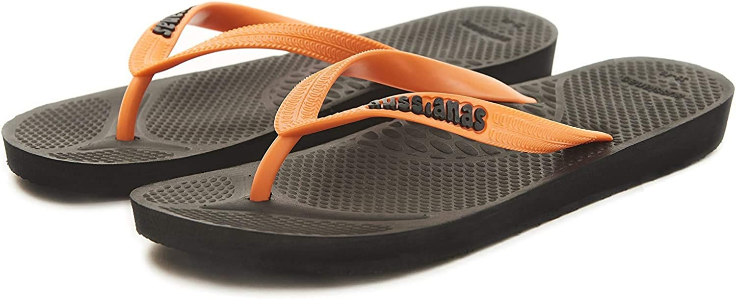 Aussie Soles Aussiana Classic/™ Orthotic Flip Flops with Arch Support for Adults Unisex