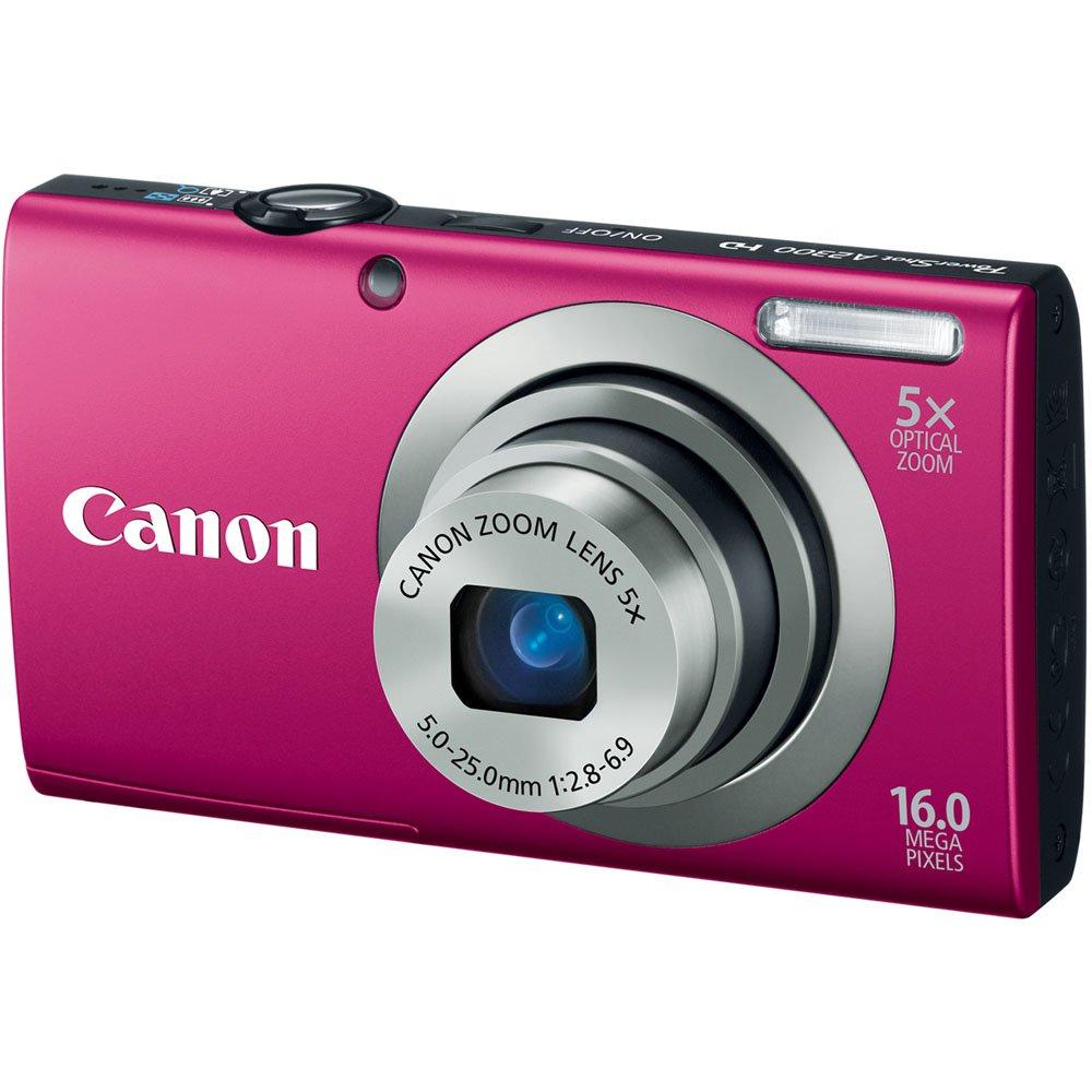 Amazon.com : Canon PowerShot A2300 16.0 MP Digital Camera with 5x ...
