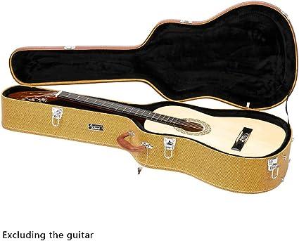 GLARRY - Funda rígida para guitarra clásica y Dreadnought (39