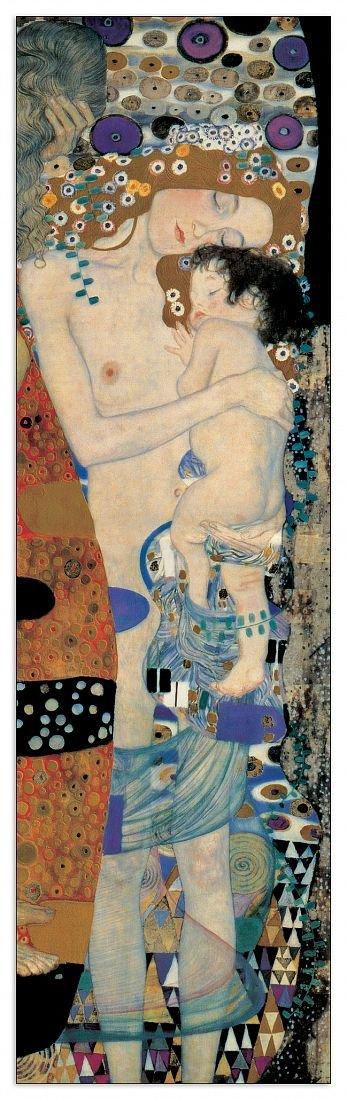 Artopweb Pannelli Decorativi Klimt Mother And Child Quadro, Legno,, 30x1.8x100 cm Eclissi EC16190 stampe; quadri