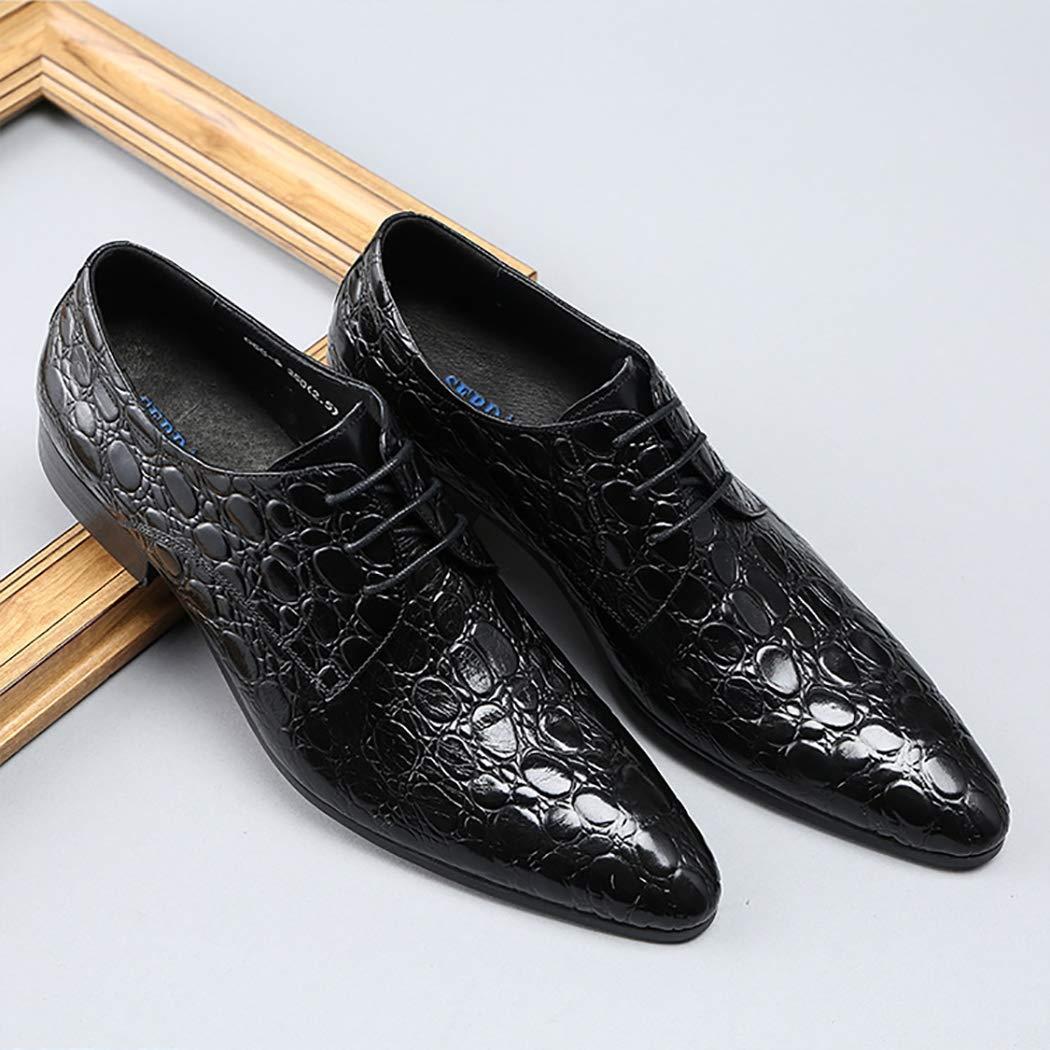 Oxford schuhe Herren Herren Herren Leder Formelle Schuhe Krokodilmuster wies Toe klassischen Stil Kleid Schuhe Lace Up Work Bussiness lässig B07PVHCJF4  7640a0