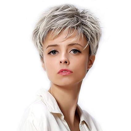 Beikoard Peluca-La moda de la mujer sexy flequillo completo peluca corta peluca recta peluca