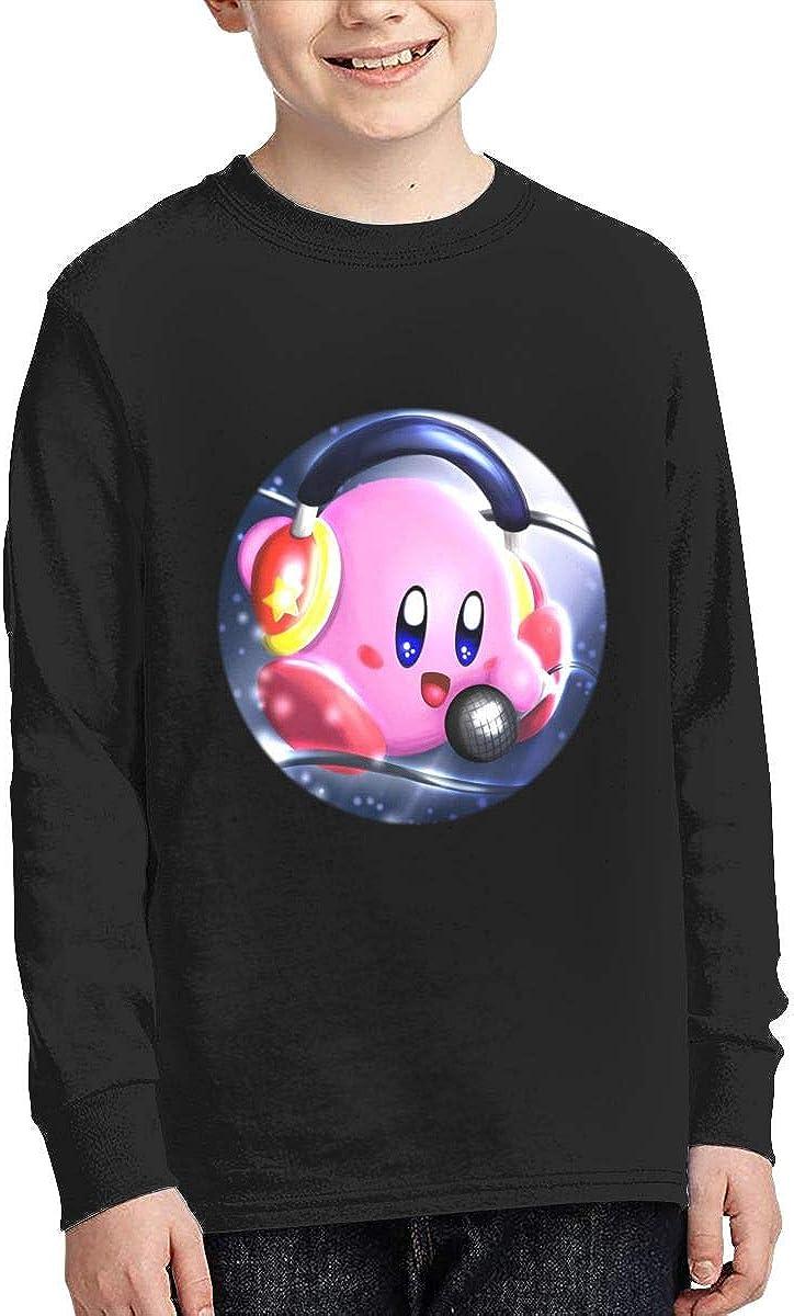 Joess Ki-Rbys Unisex Teenager Junior Long Sleeve Cotton T-Shirt Tee Tops for Boys Girls