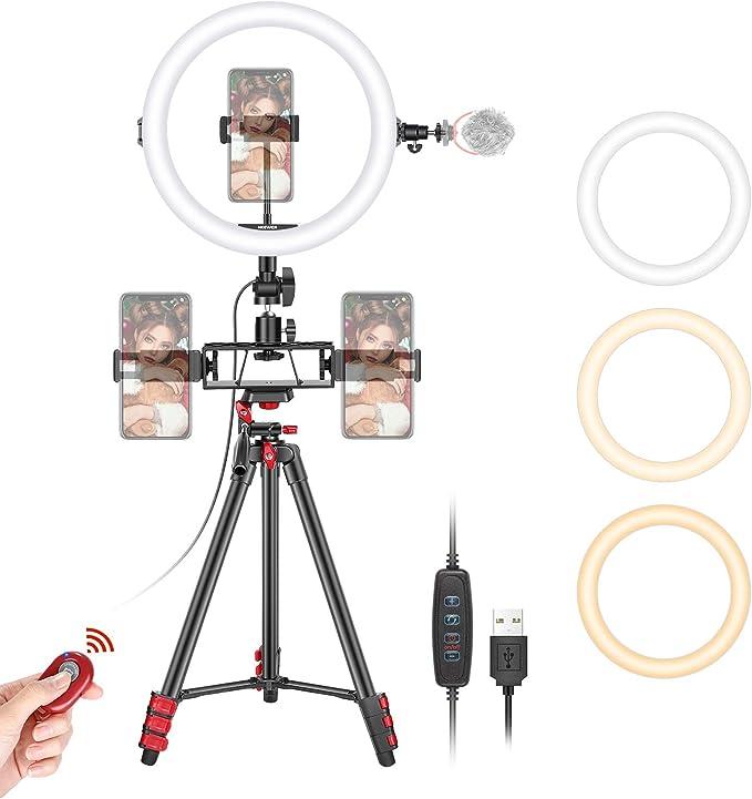 Neewer 10-inch Selfie Ring Light