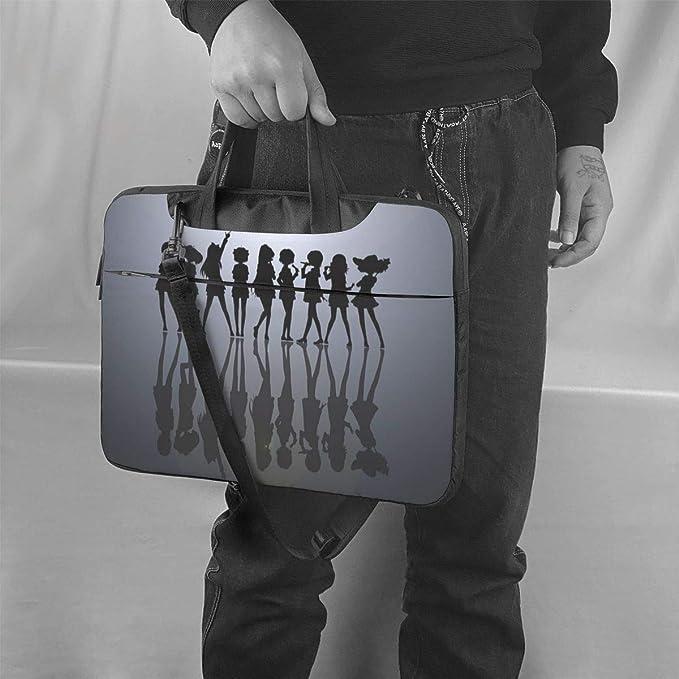 Laptop Shoulder Bags Polyester Messenger Carrying Briefcase Sleeve with Adjustable Depth at Bottom 13 inch Hatsune Miku Laptop Bag Laptop Messenger Bag