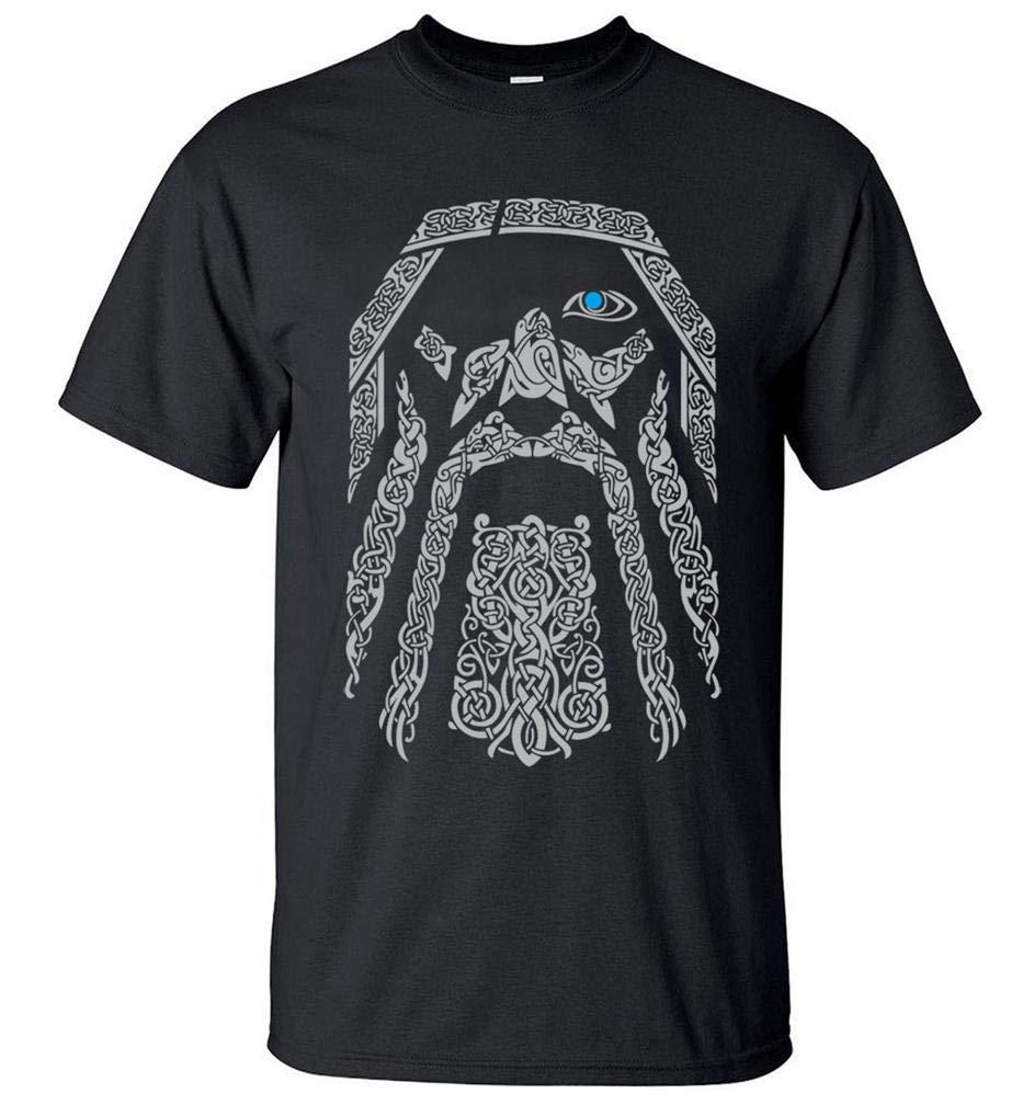 Odin Vikings S Printing S Funny Short Sleeves Shirts