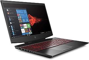 "ELUK OMEN 15t NVIDIA RTX Red Legend Gaming Laptop (Intel i7-10750H CPU 8GB GDDR6 2070 VR Ready 15.6"" 144Hz Full HD IPS, Thunderbolt 3, Windows 10 Home, 2TB PCIe SSD + 1TB HDD & 64GB RAM) Gamer PC"