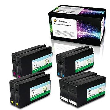 OCProducts - Cartucho de Tinta remanufacturado para impresoras HP ...