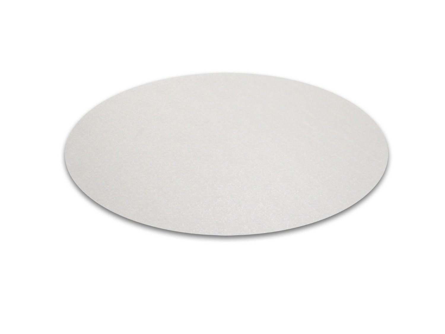 OLizee Clear Multitask Polycarbonate Office Chair Floor Mat for Hardwood and carpet Floors 36 Inch Circular