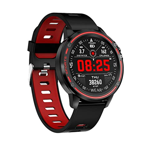 Amazon.com: LARDOO ECG+PPG Smart Watch Men Ip68 Waterproof ...