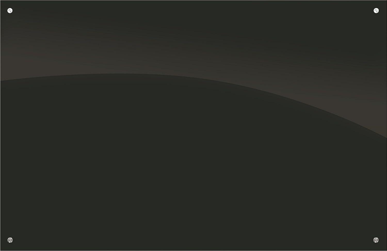 Best-Rite Enlighten ガラスホワイトボードブラック 1/8インチ 強化ガラス 1.5 X 2フィート (84072 ) 4 x 6 Feet B00GXMB5L2 4 x 6 Feet ブラック ブラック 4 x 6 Feet