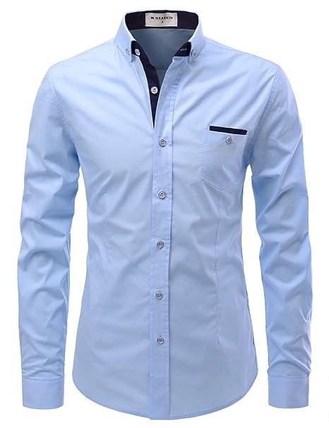 Amazon.com: nearkin Vestido de diseño elástico de punto de ...