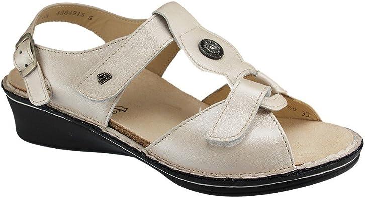 Amazon Com Finn Comfort Finn Adana Silber Luxory Size 9 Us Metallic Shoes