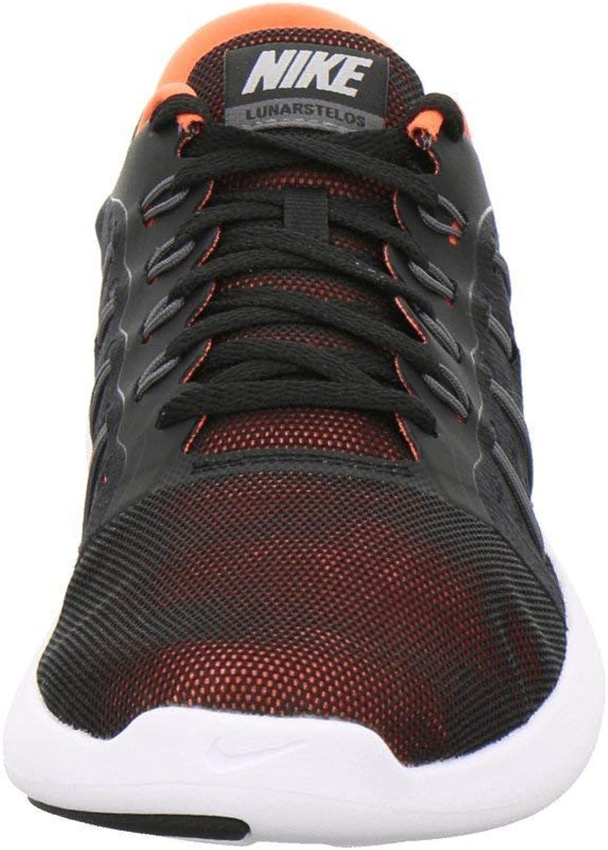 Nike Men's Lunarstelos Black/Dark Grey