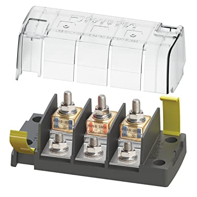 Blue Sea Systems 5194 Fuse Block MRBF 3Circ Independent Boating Electrical Equipment: Sports & Outdoors