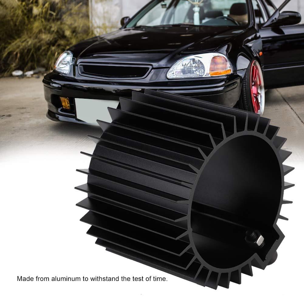 B/âti de moteur de billette de couverture de radiateur de refroidisseur de filtre /à huile de moteur dalliage daluminium argent