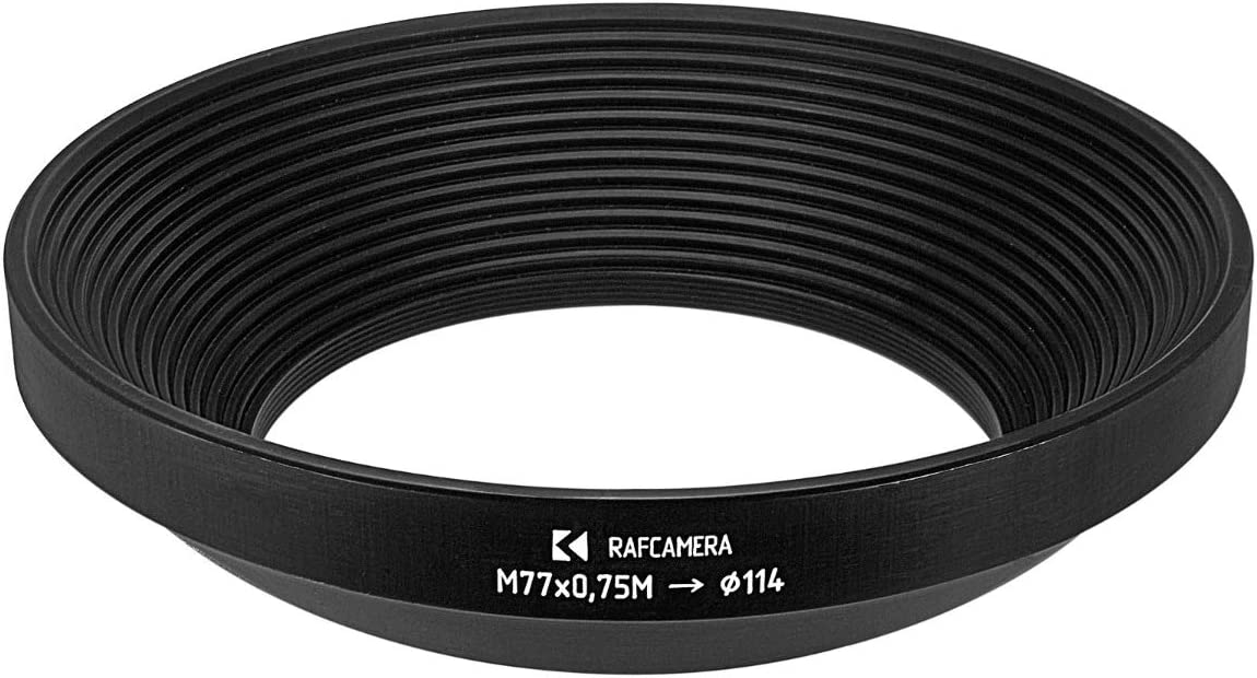 114mm Matte Box Adapter Ring for Lenses with M77x0.75 Filter Thread