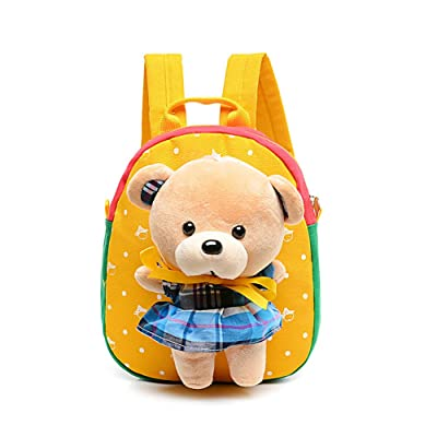 Lean In Cute Cartoon Bear Backpack Backpack with Lunch Bag, One Size low-cost